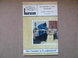 """Lurem """"La Machine à Bois Combinée""""  / Catalogue - Basteln"""