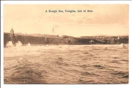 A Rough Sea, Douglas, Isle Of Man.- Boots Pelham Sries - Isle Of Man