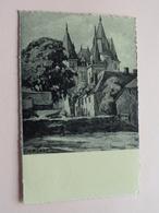 Le Château, L'eglise Et Le Presbytère ( 2351 - Arduenna ) Anno 1953 ( Zie Foto Details ) ! - Durbuy