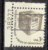 USA Precancel Vorausentwertung Preo, Locals Texas, Markham 841, Plate# - Vereinigte Staaten