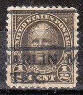 USA Precancel Vorausentwertung Preo, Locals Texas, Marlin 551-490, Perf. Not Perfect - Vereinigte Staaten
