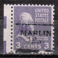 USA Precancel Vorausentwertung Preo, Locals Texas, Marlin 701 - Vereinigte Staaten