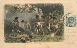 FIDJI FIJI CANNIBAL FEAST - Fidji
