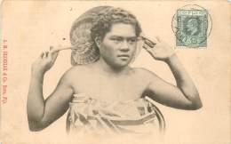 FIDJI FIJI FIJIAN GIRL - Fidji
