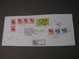 Tanzania R-cv. 1975 Butteflies - Tansania (1964-...)