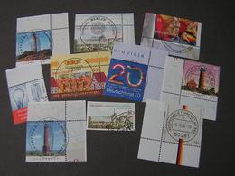 BRD Modern Eckrand Lot - Briefmarken