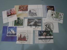 BRD Lot  2008   Mit Eckrand Und 2656 - Briefmarken