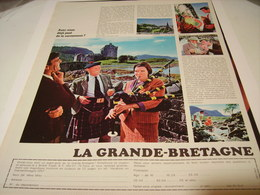 ANCIENNE PUBLICITE VOS VACANCES LA GRANDE BRETAGNE 1967 - Autres