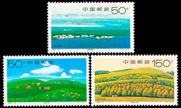 China 1998-16 Xilinguole Grassland Stamps 3v - 1949 - ... People's Republic