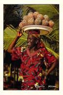 Afrique-CÔTE D'IVOIRE Vendeuse D'ananas Sur La Plage Du Grand Bassam (-MAURICE ASCANI 31) *PRIX FIXE - Ivory Coast