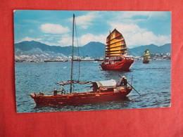 China (Hong Kong) Harbor - Has Stamp & Cancel  Ref 3035 - China (Hong Kong)