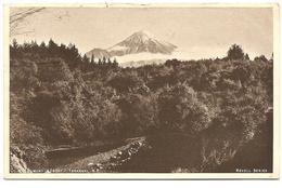 Mt. Egmont (8260ft). Taranaki, N.Z. - New Zealand