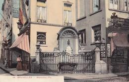 BRUXELLES - Manneken Pis - Monuments, édifices