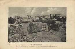 SALONIQUE  Les Fortifications Et La Citadelle  RV - Greece