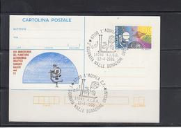 ITALIA  1986 - Intero Postale - Annullo Speciale Illustrato - Planetario Astronomico - Astrologia