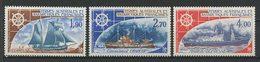 TAAF 1976 PA N° 44/46 ** Neufs MNH Superbes C 26.20 € Bateaux Boats Voiliers Sailboat Transports - Poste Aérienne