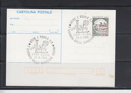 ITALIA  1986 - Intero Postale - Annullo Speciale Illustrato -donazione Organi - Salute