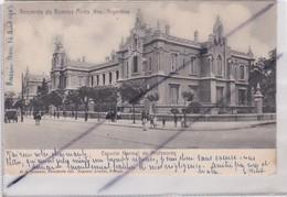 Argentine : Recuerdo De Buenos Aire . Escuela Nermal De Profesoras (carte Précurseur De 1903) - Argentine