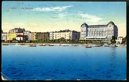 Pola,  Via Stazione, 24.8.1914, - Croatia