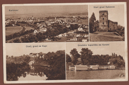 CROATIA, KARLOVAC PICTURE POSTCARD 1939 RARE!!!!!!!!!!! - Croatia