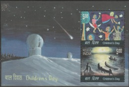 INDIA-2007   MINIATURE SHEET  / CHILDREN'S DAY/ MAGIC OF THE NIGHT  DRAWN BY CHILDREN - India