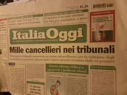 ITALIA OGGI - Books, Magazines, Comics