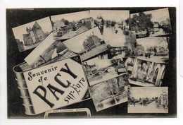 - CPA PACY-SUR-EURE (27) - Multivues - Photo A. Lavergne - - Pacy-sur-Eure