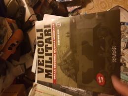 VEICOLI MILITARI SECONDO GUERRA MONDIALE (MODELLINO ESCLUSO) - Books, Magazines, Comics