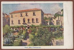 CROATIA, RAB PICTURE POSTCARD 1927 RARE!!!!!!!!!!! - Croatia