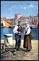 Spalato, Split Molo Veneto E Vista Alla Riva Vecchiva, Tracht, Costum,  Purger & Co., 8332 - Croatia