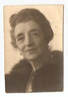 PHOTO ORIGINALE 3 AOUT 1941 - PORTRAIT DE VIEILLE FEMME - OLD WOMAN - ALTEN FRAU - MUJER MAYOR - VECCHIA DONNA - Persone Anonimi