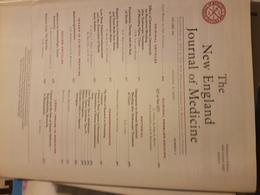 THE NEW ENGLAND JOURNAL OF MEDICINE - Books, Magazines, Comics