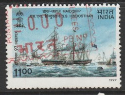 India 1997 INDEPEX '97 International Stamp Exhibition, New Delhi 11.00 R Multicoloured SW 1599 O Used - India
