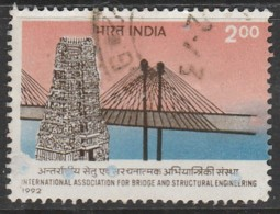India 1992  Association For Bridge And Structural Engineering, New Delhi 2.00 R Multicoloured SW 1346 O Used - India