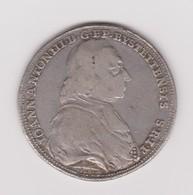 Demi Taler De Johann Anton III Von Zehmen évêque D'Eichstätt 1781-1790 - Taler & Doppeltaler