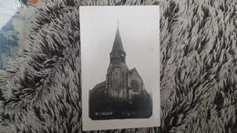 RENNEVILLE * HAUTE GARONNE  - CARTE PHOTO RARE DE L EGLISE - Otros Municipios