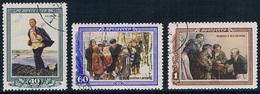 URSS - 28e Anniversaire De La Mort De Lénine 1599/1601 (année 152) Oblit. - 1923-1991 URSS