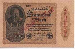Germany  1Milliarde Mark - [ 3] 1918-1933 : Weimar Republic