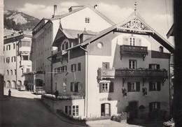 ST.ULRICH-ORTISEI-BOZEN-BOLZANO-HOTEL =AQUILA=-CARTOLINA VERA FOTOGRAFIA-ANNO 1950-60 - Bolzano