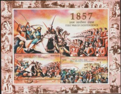 INDIA-2007   MINIATURE SHEET  / 150TH YEAR OF FIRST(1857-SEPOY MUTINY) WAR OF INDEPENDENCE OF INDIA - India