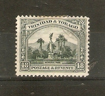 TRINIDAD AND TOBAGO 1935 48c SG 237 MOUNTED MINT Cat £10 - Trinidad & Tobago (...-1961)