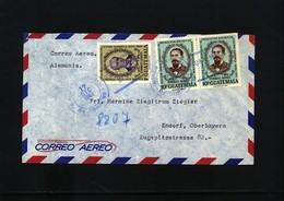 Guatemala Interesting Airmail Letter - Ecuador