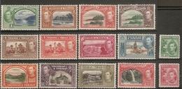 TRINIDAD AND TOBAGO 1938 - 1944 SET SG 246/256 MOUNTED MINT Cat £110 - Trinidad & Tobago (...-1961)