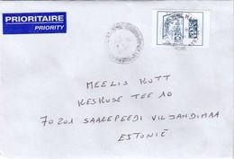 GOOD FRANCE Postal Cover To ESTONIA 2018 - Good Stamped: Marianne - Frankrijk
