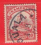 MiNr. 9 O Deutschland Deutsche Kolonie Kamerun - Kolonie: Kamerun