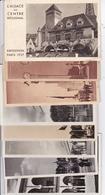 PARIS EXPOSITION UNIVERSELLE DE 1937 LOT DE 8 BELLES CARTES RARE !! - Expositions