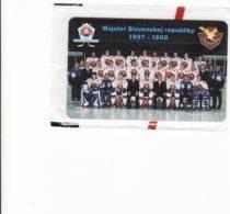 Slovaquie, Neuf-unused Private Chip-puce In Blister, Slovan Bratislava-ice Hockey, Tirage 1000, Packet - Slovakia