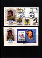 Honduras 1979 Year Of The Children Interesting FDCs - Honduras