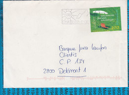 Switserland -  Cover / 1660 Chateau D 'Oex - Entiers Postaux