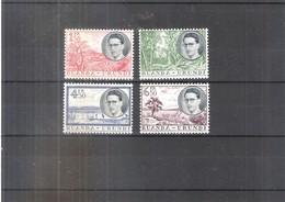 Ruanda-Urundi - 196/199 - Voyage Royal - Série Complète - XX/MNH - 1948-61: Neufs